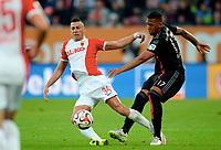 v.l. Nikola Djurdjic, Jerome Boateng (Bayern)<br /> Fussball Bundesliga, FC Augsburg - FC Bayern München<br /> <br /> Norway only