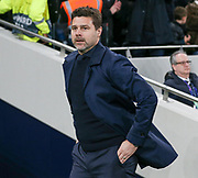 Tottenham Hotspur Manager Mauricio Pochettino during the Champions League Quarter-Final 1st leg between Tottenham Hotspur and Manchester City at Tottenham Hotspur Stadium, London, United Kingdom on 9 April 2019.