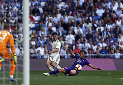 March 16, 2019 - Madrid, Madrid, Spain - Real Madrid CF's Marco Asensio seen in action during the Spanish La Liga match round 28 between Real Madrid and RC Celta Vigo at the Santiago Bernabeu Stadium in Madrid. (Credit Image: © Manu Reino/SOPA Images via ZUMA Wire)