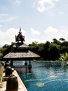 Swimming pool at Anantara Golden Triangle resort.