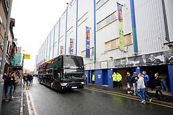 The Chelsea team bus arrives at Goodison Park - Mandatory byline: Matt McNulty/JMP - 07966386802 - 12/09/2015 - FOOTBALL - Goodison Park -Everton,England - Everton v Chelsea - Barclays Premier League