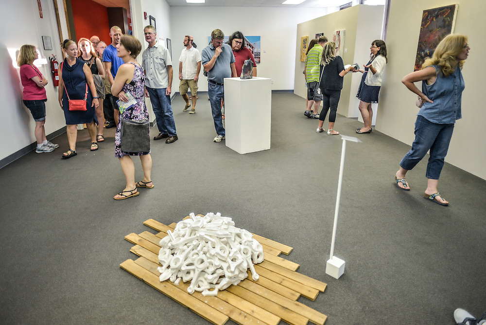 Summit Artspace during opening weekend of Akron Art Prize 2015