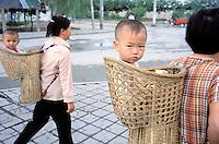 China. Ningxia Province. Yinchuan. // Chine. Province du Ningxia. Yinchuan.