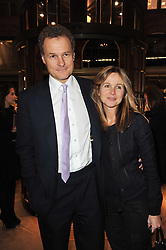 VISCOUNT & VISCOUNTESS ROTHERMERE at a party to celebrate the launch of Simon Sebag-Montefiore's new book - 'Jerusalem: The Biography' held at Asprey, 167 New Bond Street, London on 26th January 2011.
