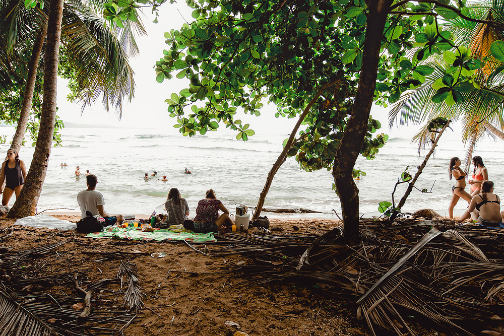 Beach near Punta Uva, Costa Rica. Copyright 2017 Reid McNally.