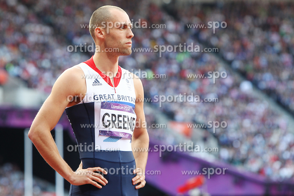 Olympic Games London 2012.Athletics - David Greene (GBR).© pixathlon