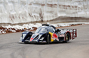COLORADO SPRINGS - JUNE 27:  Rhys Millen #6 drives a 2010 Hyundai RMR JE09 in the Unlimited Division as he races 12.42 miles up to the 14,110 foot summit of Pikes Peak Mountain in Pike National Forest during the 88th running of the Pikes Peak International Hill Climb, the second oldest motor sports event in the United States, on June 27, 2010 in Colorado Springs, Colorado. ©Paul Anthony Spinelli