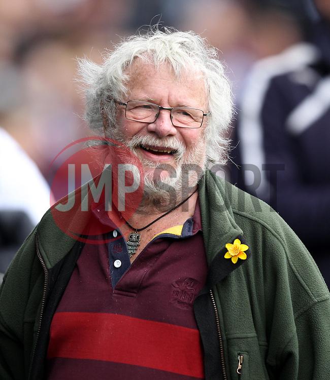 Comedian and TV Presenter Bill Odie - Photo mandatory by-line: Robbie Stephenson/JMP - Mobile: 07966 386802 - 04/04/2015 - SPORT - Football - Reading - Madejski Stadium - Reading v Cardiff City - Sky Bet Championship
