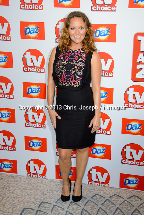 TV Choice Awards 2013 - London.<br /> Charlie Brooks arriving at the TV Choice Awards 2013, The Dorchester Hotel, London, United Kingdom. Monday, 9th September 2013. Picture by Chris  Joseph / i-Images