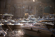 May 24-27, 2017: Monaco Grand Prix. Yachts in Monaco