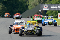 #21 Christina Maple Caterham Supersport during the ITC Compliance Caterham Supersport Championship at Oulton Park, Little Budworth, Cheshire, United Kingdom. August 13 2016. World Copyright Peter Taylor/PSP.