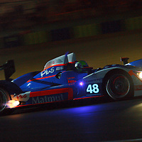 #48, Oreca 03-Nissan, Team Oreca Matmut, Drivers: Premat, Hallyday, Kraihamer, Wednesday night qualifying, P2, Le Mans 24H, 2001