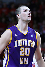 20130105 Northern Iowa v Illinois State basketball photos