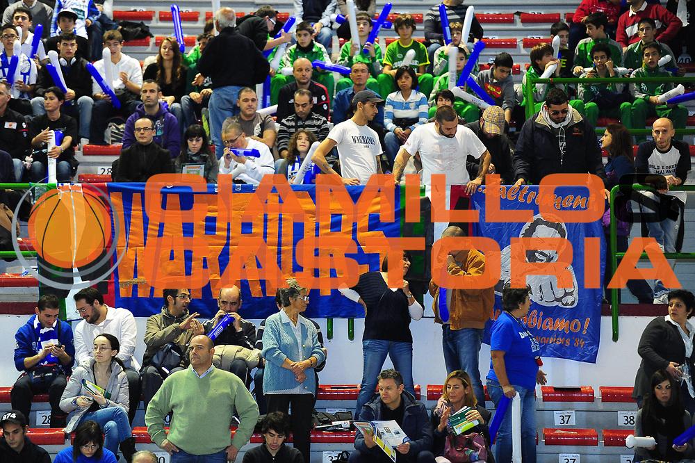 DESCRIZIONE : SASSARI LEGA A 2011-12 DINAMO SASSARI - AGEA ROMA<br /> GIOCATORE : TIFOSI ROMA<br /> SQUADRA :DINAMO SASSARI - AGEA ROMA<br /> EVENTO : CAMPIONATO LEGA A 2011-2012 <br /> GARA : DINAMO SASSARI - AGEA ROMA<br /> DATA : 19/11/2011<br /> CATEGORIA : VARIE<br /> SPORT : Pallacanestro <br /> AUTORE : Agenzia Ciamillo-Castoria/M.Turrini<br /> Galleria : Lega Basket A 2011-2012  <br /> Fotonotizia : SASSARI LEGA A 2011-12 DINAMO SASSARI - AGEA ROMA<br /> Predefinita :