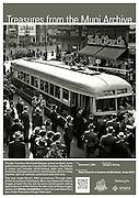 Magic Carpet Car at Stockton and Ellis Streets   November 2, 1939