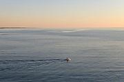 View from Levanzo seafront, Egadi islands.<br /> Panorama dal lungomare di Levanzo, isole Egadi