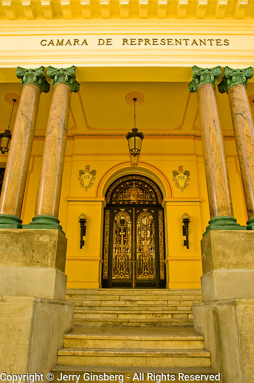 Camara de Representantes in Old Havana Habana Vieja Cuba.