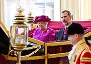 King Felipe VI State Visit to UK 14 July 2017