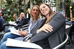 MAURIZIA CACCIATORI E ELEONORA LO BIANCO<br /> CONFERENZA LEGA VOLLEY FEMMINILE SQUADRE ITALIANE PROTAGONISTE IN EUROPA<br /> FOTO FILIPPO RUBIN / LVF