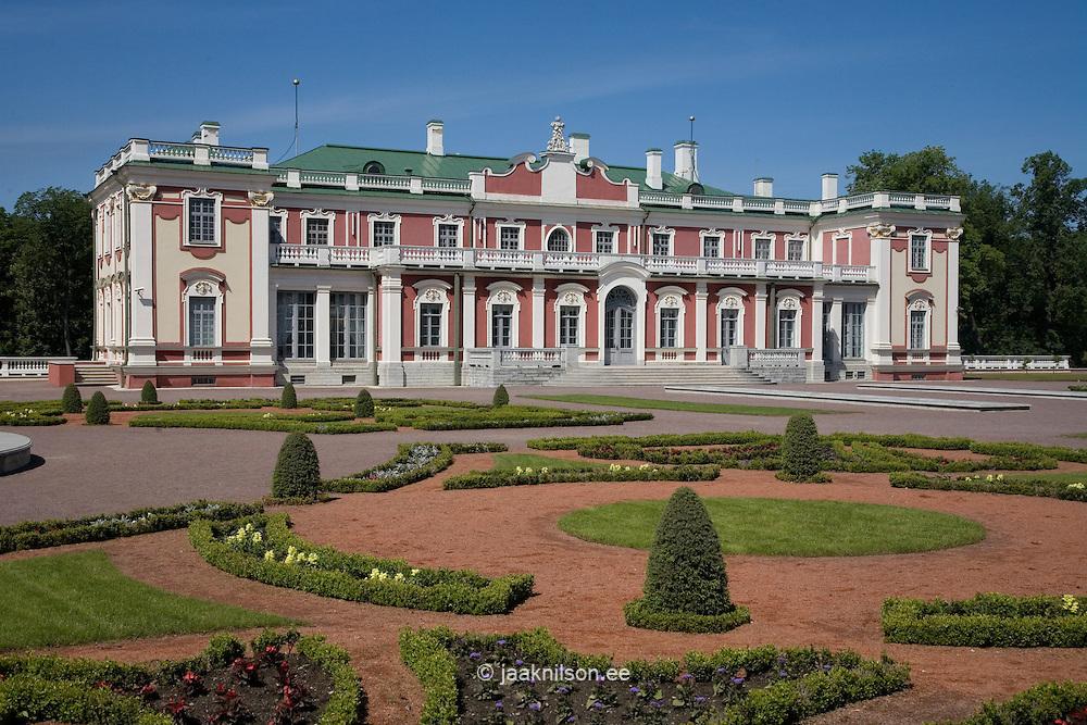 Kadriorg Palace Garden in Tallinn, Estonia