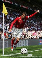 Photo: Paul Thomas.<br /> England v Jamaica. International Friendly. 03/06/2006.<br /> <br /> David Beckham.