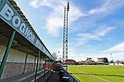 A general view of Nywood Lane before the Ryman Premier League match between Bognor Regis Town and Canvey Island at Nyewood Lane, Bognor, United Kingdom on 25 March 2017.