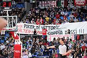 DESCRIZIONE : Pesaro Lega A 2011-12 Scavolini Siviglia Pesaro Angelico Biella<br /> GIOCATORE : tifosi curva<br /> CATEGORIA : tifosi<br /> SQUADRA : Scavolini Siviglia Pesaro<br /> EVENTO : Campionato Lega A 2011-2012<br /> GARA : Scavolini Siviglia Pesaro Angelico Biella<br /> DATA : 21/01/2012<br /> SPORT : Pallacanestro<br /> AUTORE : Agenzia Ciamillo-Castoria/C.De Massis<br /> Galleria : Lega Basket A 2011-2012<br /> Fotonotizia : Pesaro Lega A 2011-12 Scavolini Siviglia Pesaro Angelico Biella<br /> Predefinita :