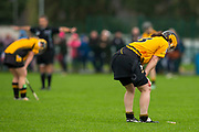 24/09/2016, Senior Camogie Final at Trim.<br /> Kilmessan vs Na Fianna<br /> Na Fianna players dejected after the final whistle<br /> Photo: David Mullen /www.cyberimages.net / 2016<br /> ISO: 1000; Shutter: 1/1328; Aperture: 4; <br /> File Size: 2.8MB<br /> Print Size: 8.6 x 5.8 inches