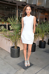 ELARICA GALLACHER at a supper and screening of 'No More Tiaras' a film by Mary Nighy held at Shrimpy's, King's Cross Filling Station, Goods Way, London on 7th May 2014.