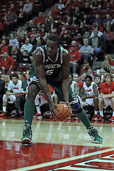 20 November 2013:  Rhamel Brown during an NCAA Non-Conference mens basketball game between theJaspers of Manhattan and the Illinois State Redbirds in Redbird Arena, Normal IL