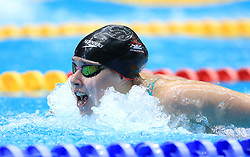 Isobel Grant competes in the Women's 200m Open 200m Butterfly heats during day three of the 2017 British Swimming Championships at Ponds Forge, Sheffield.