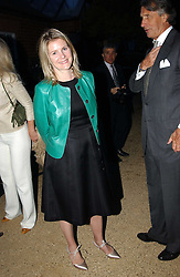 VISCOUNTESS LINLEY at the Cartier Chelsea Flower Show dinat the annual Cartier Flower Show Diner held at The Physics Garden, Chelsea, London on 23rd May 2005.<br />