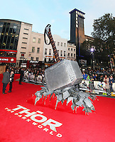Thor: The Dark World - World film premiere, Odeon Leicester Square, London UK, 22 October 2013, Photo by Richard Goldschmidt)