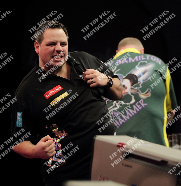 PDC WORLD CHAMPIONSHIPS 2012.ADRIAN LEWIS .