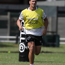 Etienne Oosthuizen  during The Cell C Sharks High CNS Rugby / Skills / Field Conditioning KP2, session at Growthpoint Kings Park in Durban, South Africa. December 9th December 2016 (Photo by Steve Haag)<br /> <br /> images for social media must have consent from Steve Haag