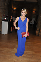JENNI FALCONER at the annual Chain of Hope's annual Gala Ball held at the Natural History Museum, London on 8th November 2012.