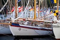 Norway, Stavanger. Tall Ships Race in Stavanger 2011.