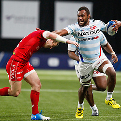 Leone Nakarawa of Racing during the European Champions Cup match between Racing 92 and Scarlets at U Arena on January 19, 2019 in Nanterre, France. (Photo by Johnny Fidelin/Icon Sport) - Leone NAKARAWA - Paris (France)