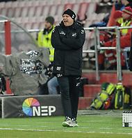Fotball , 8. november 2019 , Eliteserien , Brann - Odd<br /> trener Dag-Eilev Fagermo , Odd