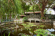 Lin Family Gardens is one of the 4 great Chinese gardens in Taiwan. Dating from the 19th century, the site is a protected historical site open to visitors.