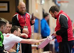 BERLIN - Indoor Hockey World Cup<br /> Czech Republic - Poland<br /> foto: SNIEZEK Karol<br /> WORLDSPORTPICS COPYRIGHT FRANK UIJLENBROEK