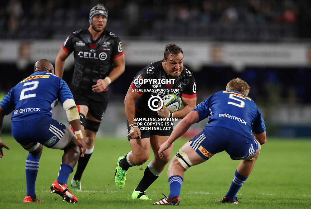 DURBAN, SOUTH AFRICA - MAY 27: Coenie Oosthuizen of the Cell C Sharks during the Super Rugby match between Cell C Sharks and DHL Stormers at Growthpoint Kings Park on May 27, 2017 in Durban, South Africa. (Photo by Steve Haag/Gallo Images)