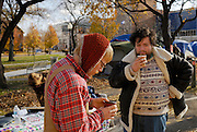 Neil and Jake can not be more different in character yet they somehow manage to build, with about fifty other people, a passionate space in an underused park and practice their idea of democracy. Occupy Windsor, Canada, November 2011.