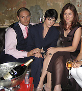 "Matthew Felkner, Selma Blair, Debra Messing.""Purple Violets"" Premiere Party.2007 Tribeca Film Festival .The Film Lounge at PM Lounge.New York, NY, USA .Monday, April, 30, 2007.Photo By Celebrityvibe.To license this image call (212) 410 5354 or;.Email: celebrityvibe@gmail.com; ."
