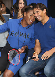 August 23, 2018 - New York City, New York, U.S. - Tennis player SERENA WILLIAMS and RAFAEL NADAL Ê attend the 2018 Lotte Palace Invitational Badminton Tournament held at the Lotte New York Palace. (Credit Image: © Nancy Kaszerman via ZUMA Wire)