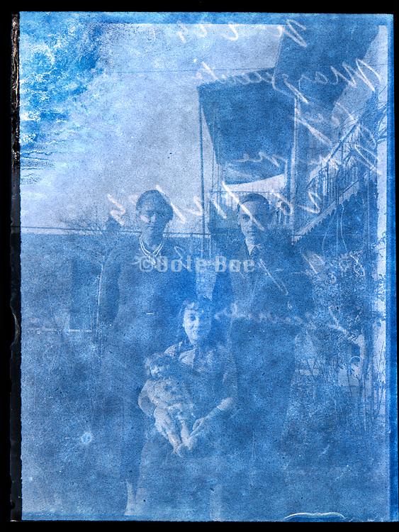 family portrait France 1934