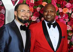 Pablo Salinas and Tituss Burgess attending the 2018 Tony Awards, at Radio City Music Hall, New York City, NY, USA on June 6, 2018. Photo by Dennis Van Tine/ABACAPRESS.COM