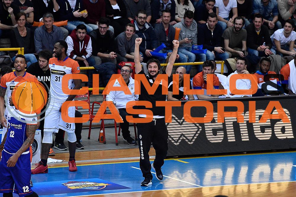 DESCRIZIONE : Verona Lega A 2014-15 All Star Game 2015 <br /> GIOCATORE : Gianmarco Pozzecco<br /> CATEGORIA : ritratto esultanza<br /> EVENTO : All Star Game Lega A 2015<br /> GARA : All Star Game Lega 2015<br /> DATA : 17/01/2015<br /> SPORT : Pallacanestro <br /> AUTORE : Agenzia Ciamillo-Castoria/C.De Massis<br /> Galleria : Lega A 2014-2015 <br /> Fotonotizia : Verona Lega A 2014-15 All Star game 2015