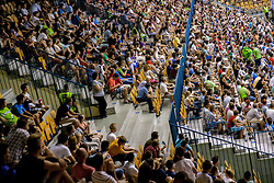 Arena Zlatorog during friendly match between National teams of Slovenia and Latvia for Eurobasket 2013 on August 2, 2013 in Arena Zlatorog, Celje, Slovenia. Slovenia defeated Latvia 71-67. (Photo by Vid Ponikvar / Sportida.com)