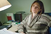 Taranto, Feb. 2016 - Avv. Eliana Baldo di ASSO-CONSUM, una fra le varie associazioni la cui richesta di costituirsi parte civile al processo contro ILVA è stata respinta.